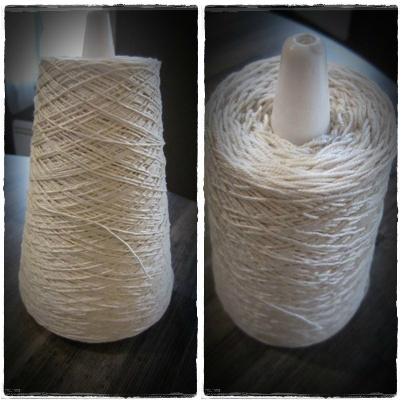 cone écru crochet