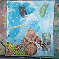Art journal... c'est le cirque en page 8