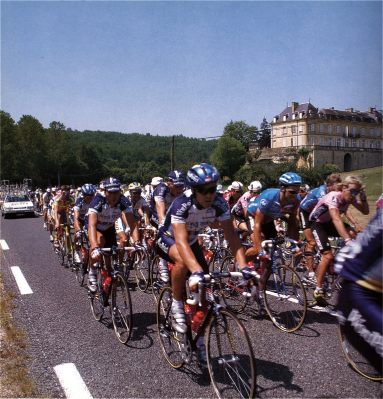 Tour de France à Sarlat