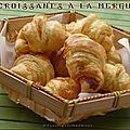 Petits croissants à la merguez