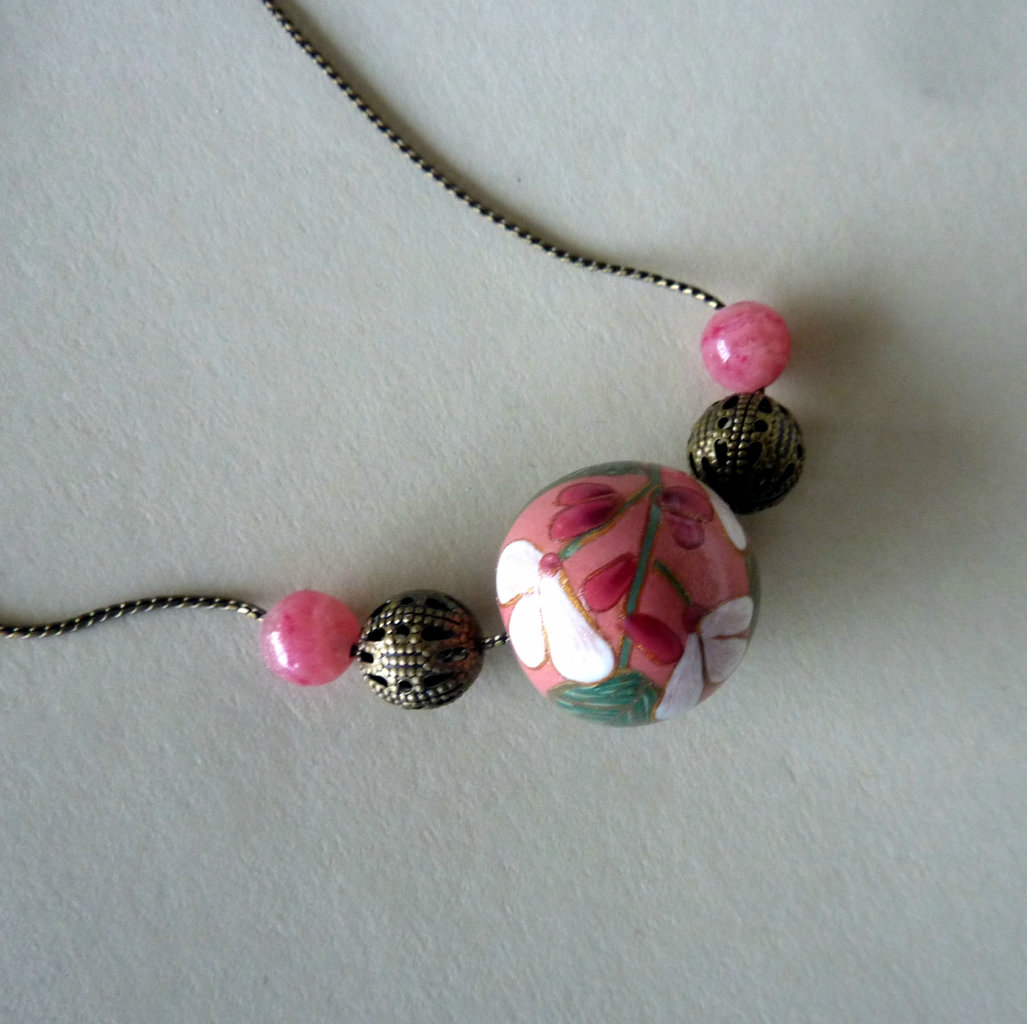 Collier ronde 1