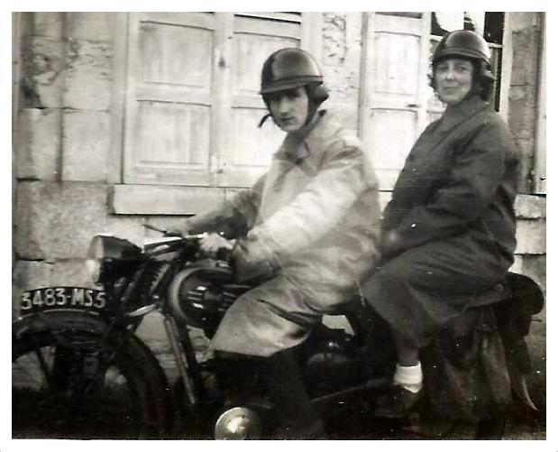chemin des dames Paul et Marguerite moto2