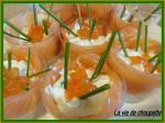 bouchées surprises au saumon