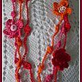 Tirage anniblog...collier crochet