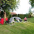 8 Nous sommes tranquilles dans le camping de Cerisy, nous apprécions notre matériel.