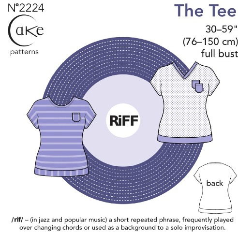 Cake Patterns- The Tee