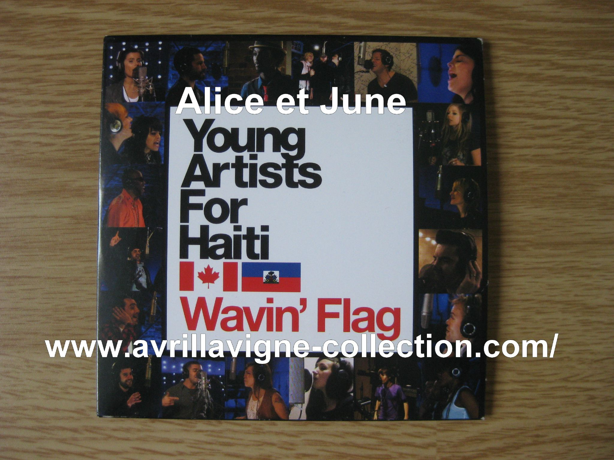 CD Young Artists For Haiti-Wavin' Flag-Canada (2010)
