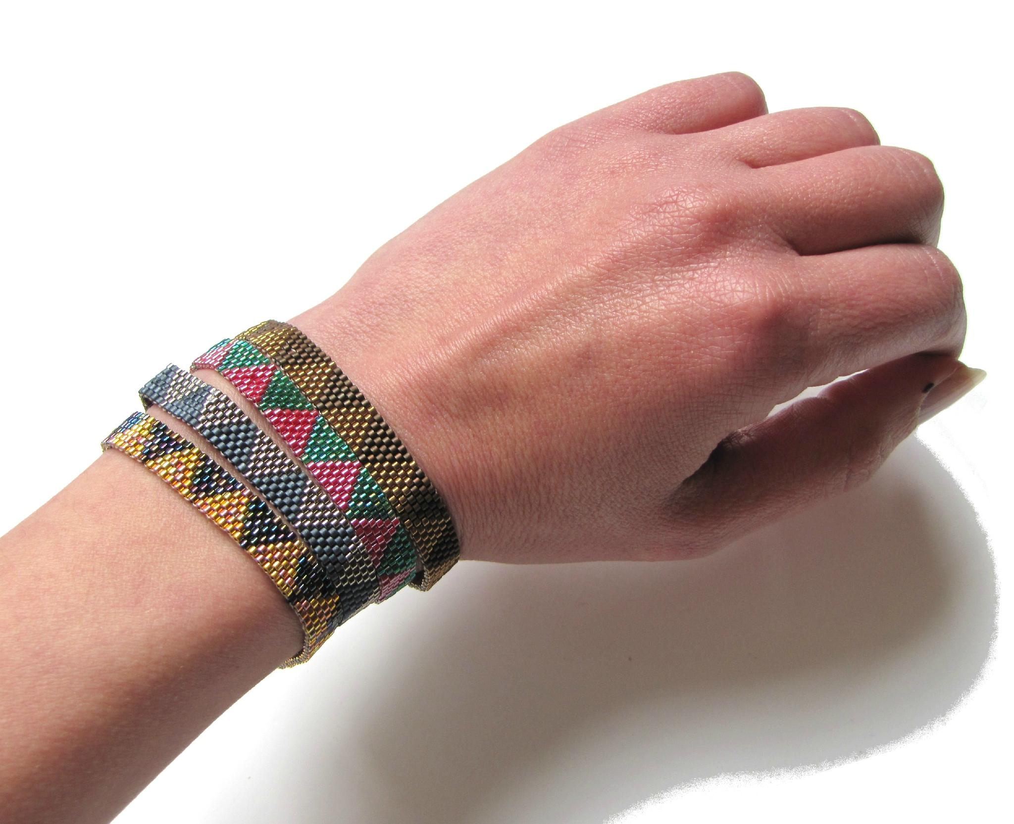 Bracelet peyote... quand on aime...