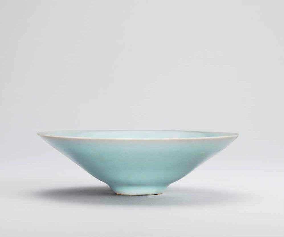 A Longquan celadon conical bowl, Southern Song dynasty (1127-1279)