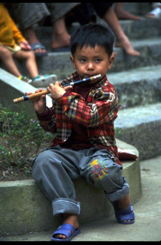 déjà musicien !