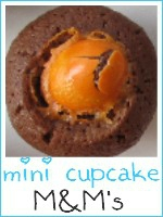 mini cupcakes M&M's - index