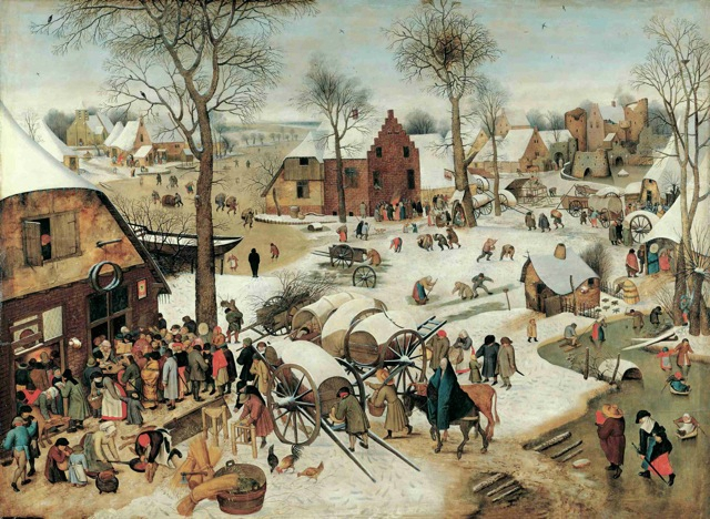 Pieter Brueghel, le jeune, Le recensement de Bethléem