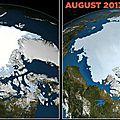 - accroissement de la glace polaire malgré le réchauffement planétaire ?!