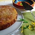 Gâteau moelleux à la fleur d'oranger