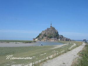 Le Mont st Michel fin mai 2011