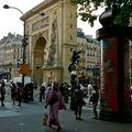 Sur le Boulevard de Saint-Denis.