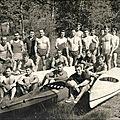 Équipe de france eau vive à dresde 1961