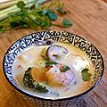 Soupe thai au crevettes - version express