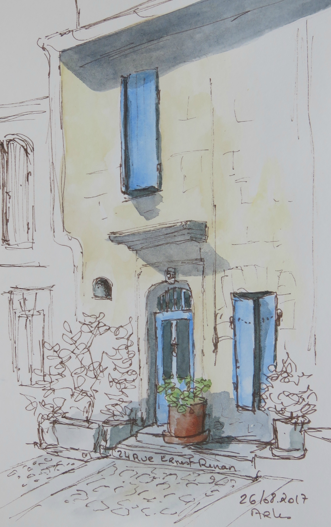 13 - Arles, 24 rue Ernest Renan