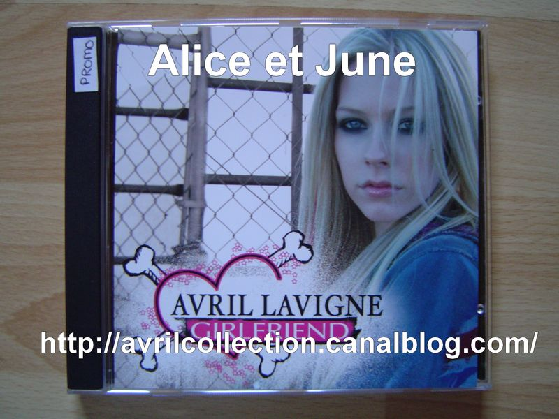 CD promotionnel Girlfriend-version européenne (2007)