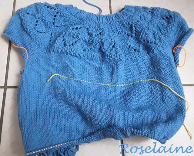 Roselaine Frambuesa Sweater by Drops Design 4