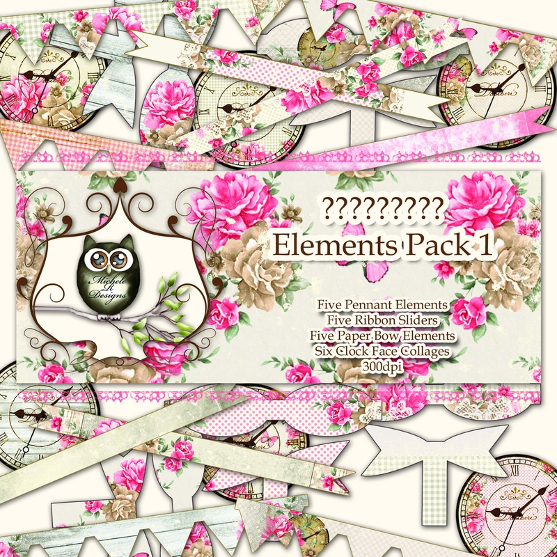 Elements Pack 1 Front Sheet