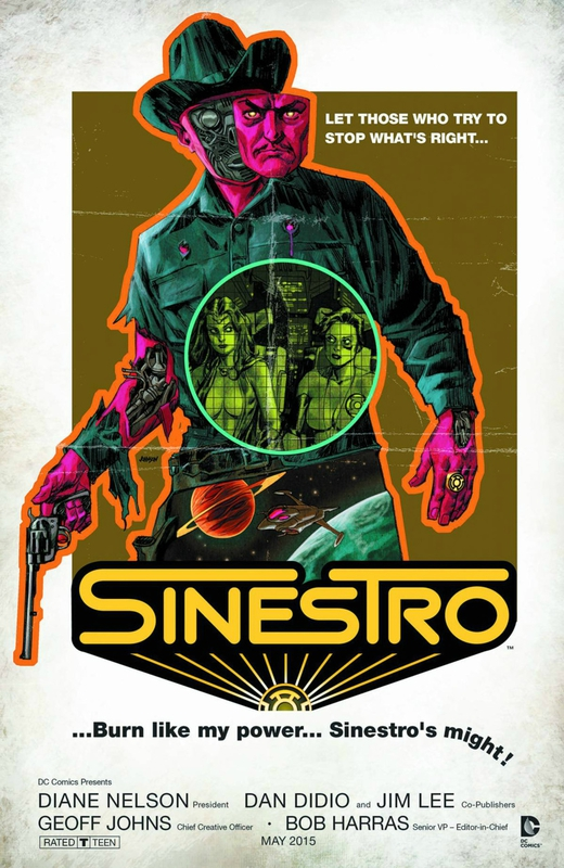 new 52 sinestro 11 movie variant