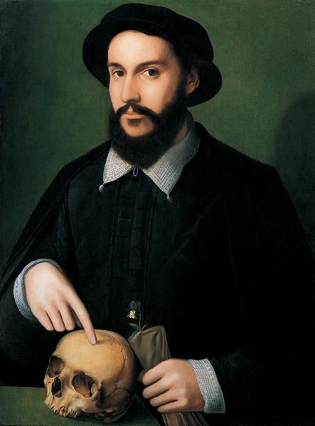The Master of the 1540s (Antwerp, active 1540-1551). Portrait of