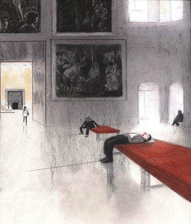 La traversée du Louvre 01