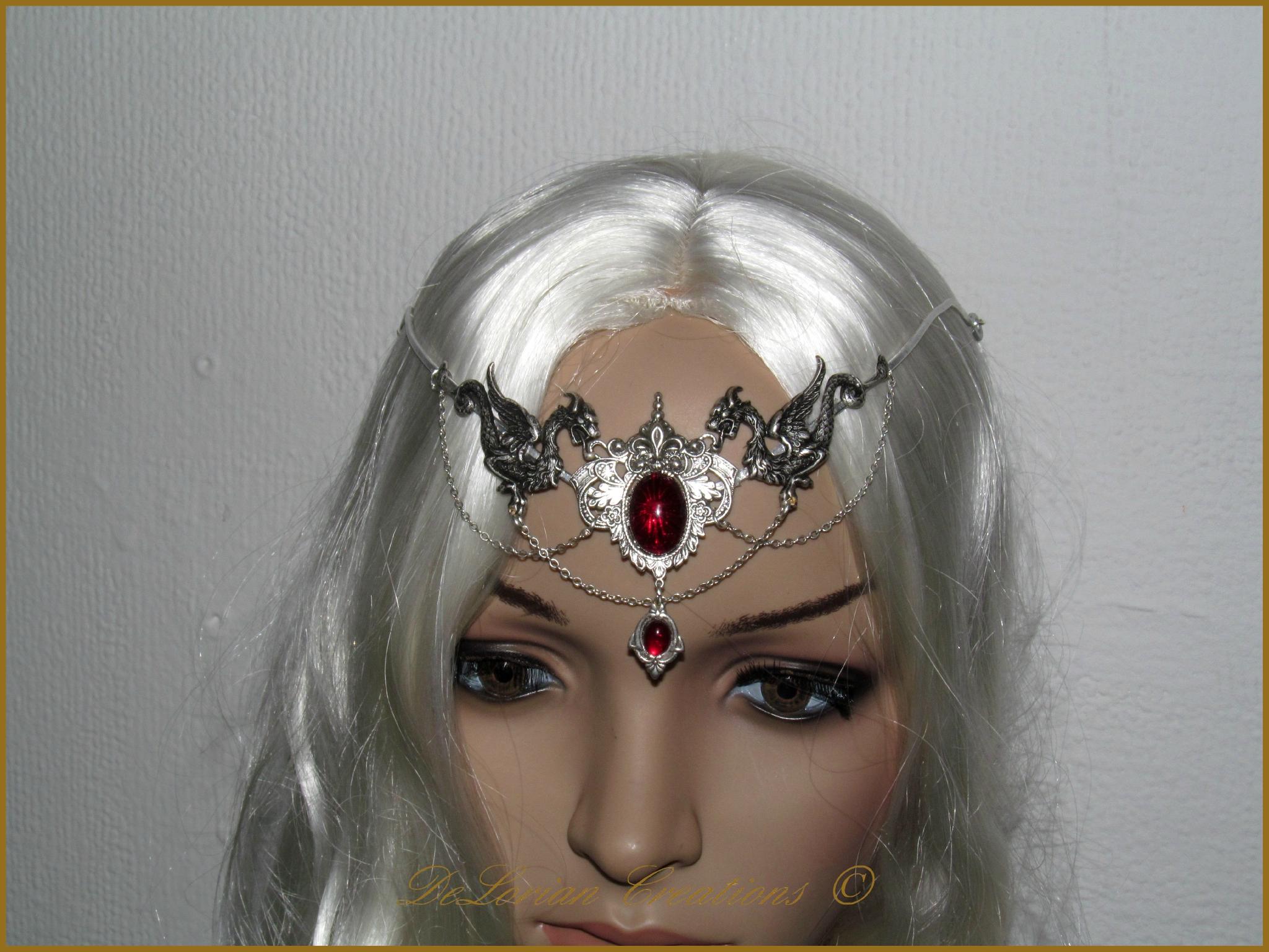 diad me daenerys bijou mariage dragon medieval heroic. Black Bedroom Furniture Sets. Home Design Ideas
