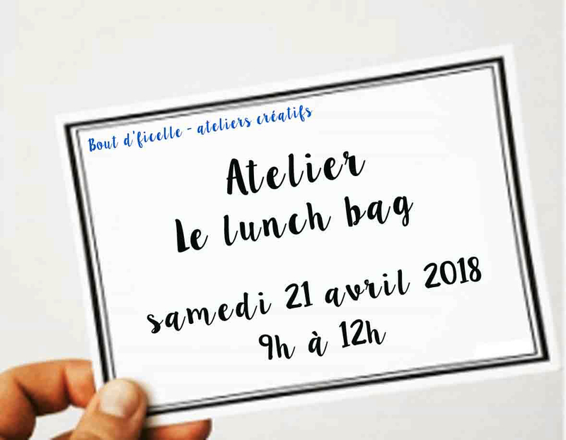 atelier Bdf - lunch bag