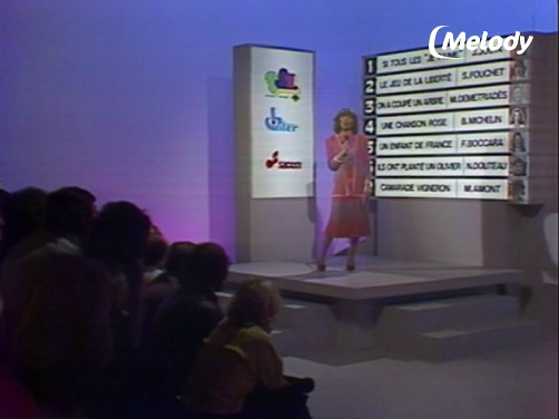 Evelyne Dhéliat 17854 Eurovision Qualification France Mars 1980