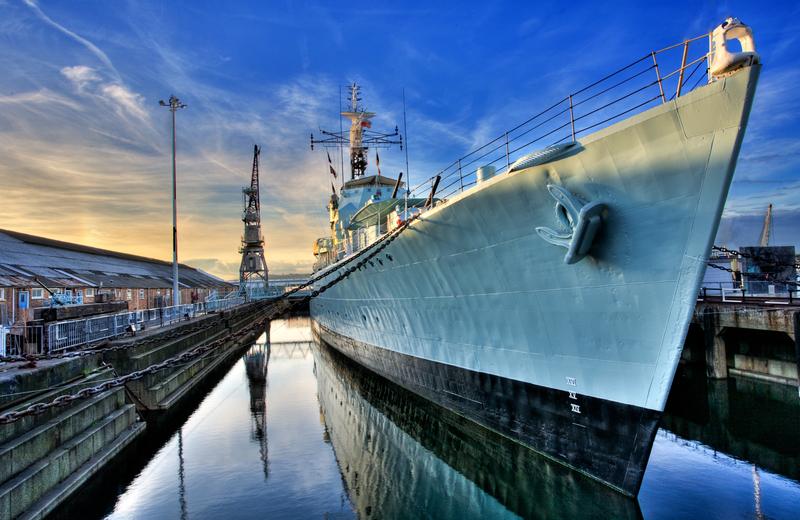 The-Historic-Dockyard-HMS-Cavalier