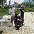 Préparation d'un vol avec la bulle_Laos2012_JCordier