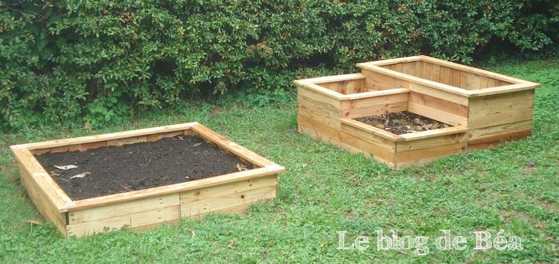 DIY : Carré potager en bois de palette - Le blog de Béa