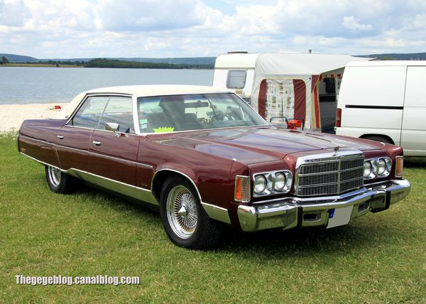 Chrysler new yorker brougham hardtop sedan de 1975 (Retro Meus Auto Madine 2012) 01