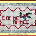 Echange ATC Nouvel An Chez Miou Jeanine pour Marie de Clessé 1