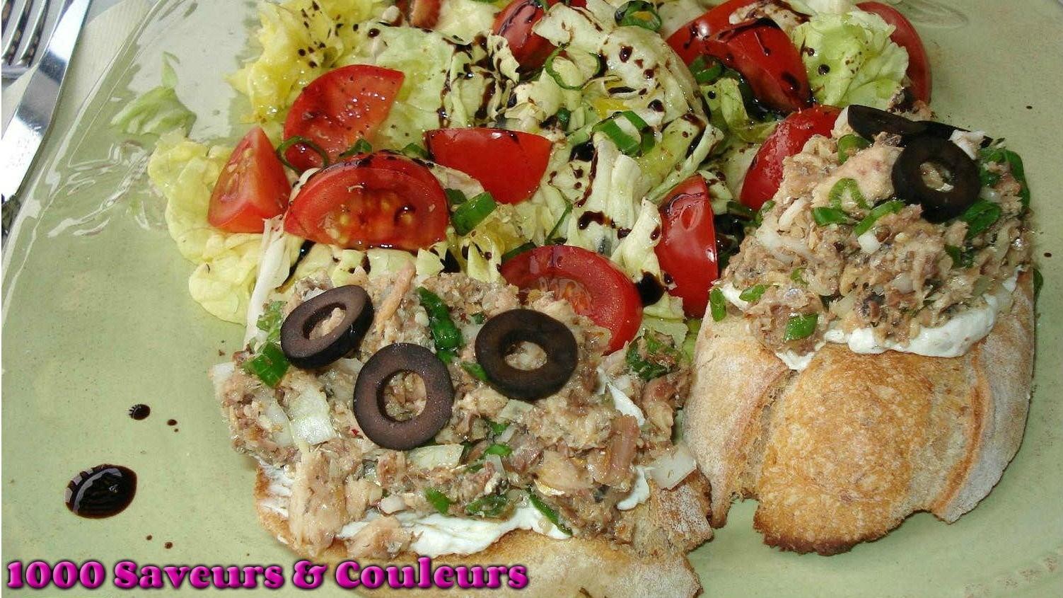 Tartines Sardinade (ou comment sublimer une boîte de sardines ... on