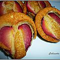 Financiers aux prunes