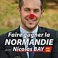 Nicolas bay-le vern est un menteur! la normandie est très bien gérée: hausse de l'investissement / baisse de l'endettement...