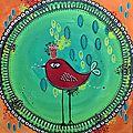 Idée kdo - {cadre l'oiseau, el rey }
