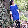 Alexia en forêt...