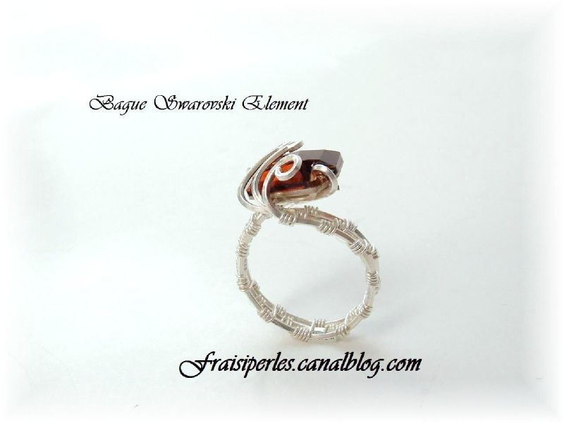 Bague Swarovski Element 2a