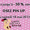 Promotions sur osez pin up