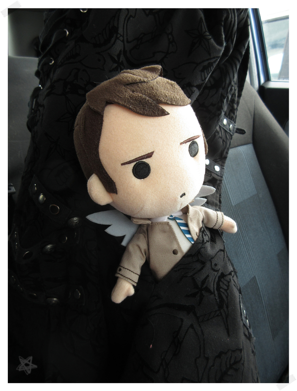 Little Castiel on his way