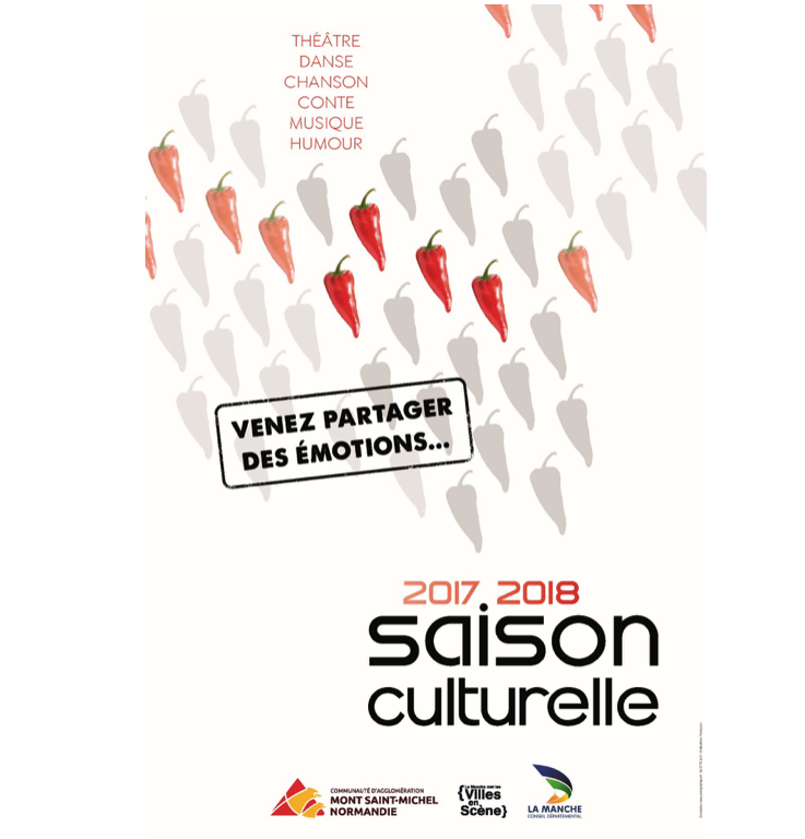 saison culturelle communauté agglomération Mont-Saint-Michel Normandie Avranches