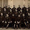 08 Caen, Quartier Claude Decaen, groupe 1916, élèves brigadiers du 11e RAC