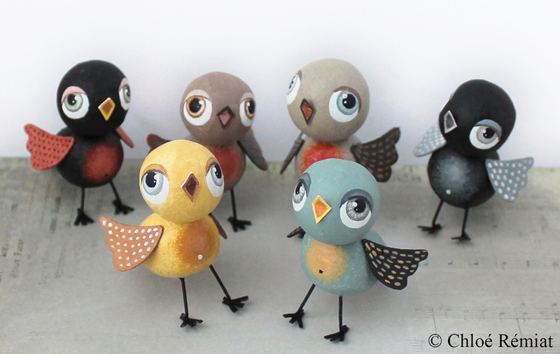6 mini oiseaux 23 nov 2018