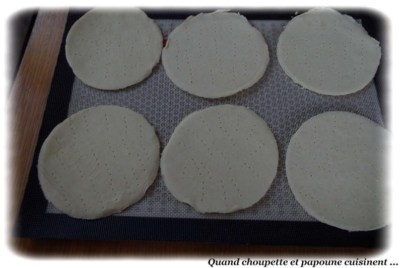 tartelette aux pommes et crème anglaise maison-5941