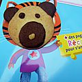 Les biscuits Teddy Bear de Annette